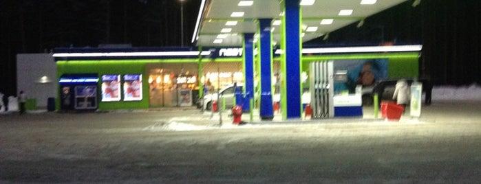 АЗС Neste Oil is one of Tempat yang Disukai Анна.
