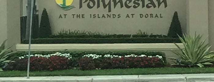 Islands At Doral is one of สถานที่ที่ Miguel ถูกใจ.