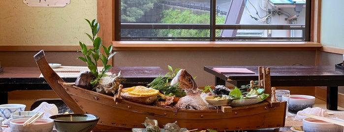うに清 磯の味 is one of Toshi's Liked Places.