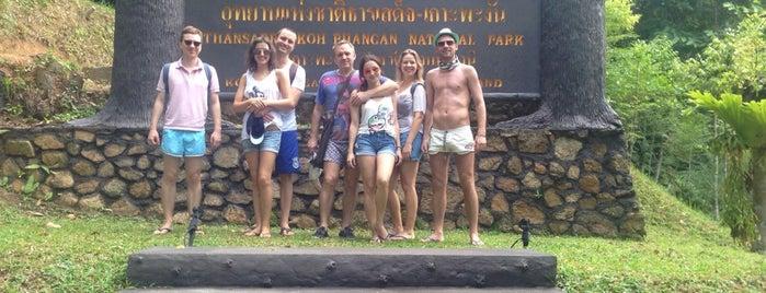 Thansadet-Koh Phangan National Park อุทยานแห่งชาติธารเสด็จ-เกาะพะงัน is one of Bg pH.