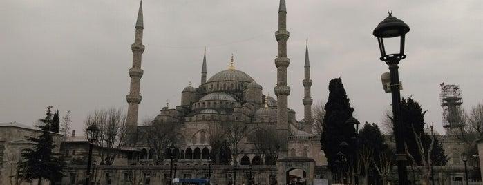Blaue Moschee is one of Constantinople.