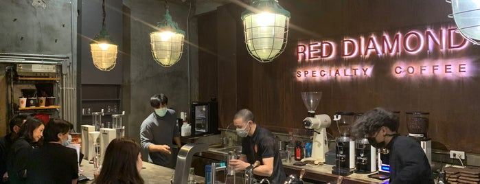 Red Diamond Cafe is one of Tempat yang Disimpan Huang.