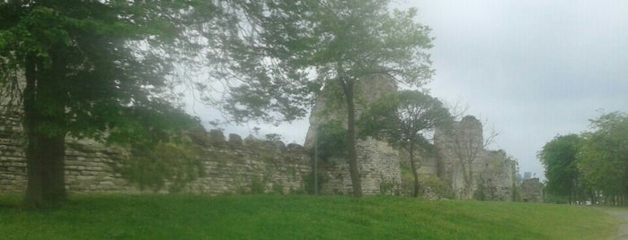 Theodosian Wall is one of İstanbul Gezi.