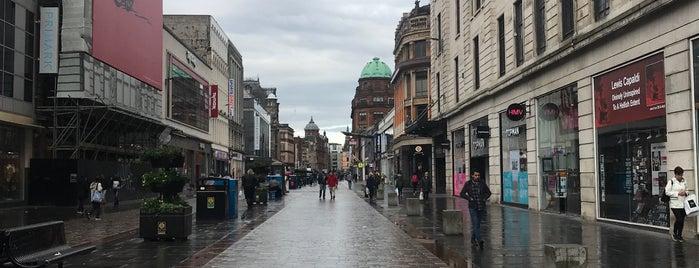 Merchant City is one of Glasgow.