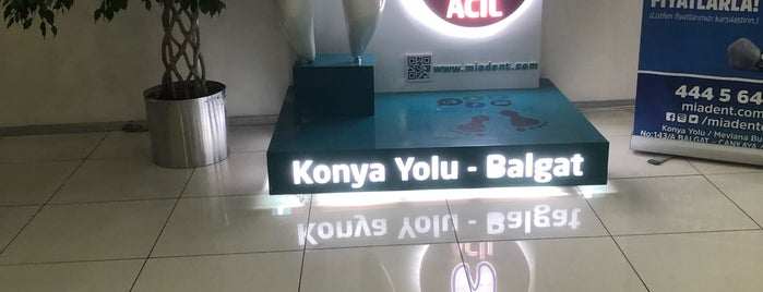 Miadent Ağız ve Diş Sağlığı Merkezi is one of Yasemin Angin 님이 좋아한 장소.