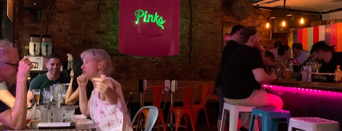 Pinks is one of Bars.