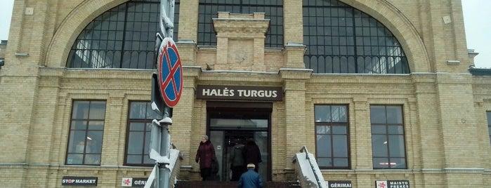 Halės turgavietė is one of Vilnius.