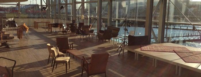 Muziekgebouw is one of Amsterdam with JetSetCD.