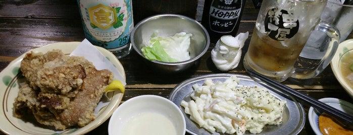 串屋横丁 祖師ヶ谷店 is one of woodcliffさんの保存済みスポット.