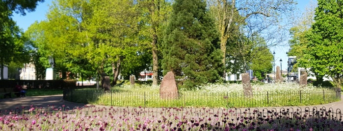 Gorsedd Gardens is one of Local's Guide to Cardiff.