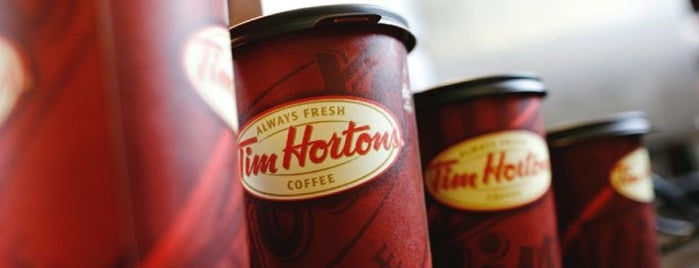 Tim Hortons is one of Andrew 님이 저장한 장소.