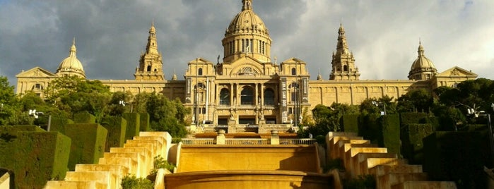 Museu Nacional d'Art de Catalunya (MNAC) is one of Barcelona, Spain.