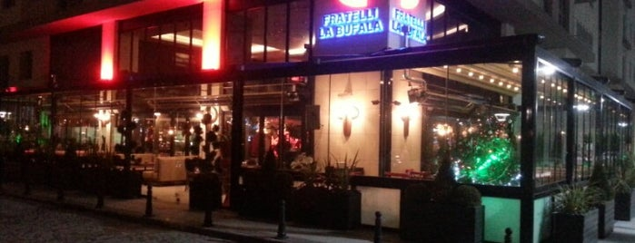 Fratelli La Bufala Akbati is one of Restaurant.