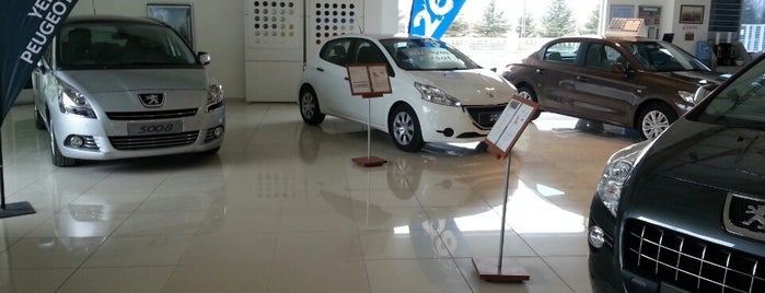 Peugeot   Banaz Otomotiv is one of สถานที่ที่ . ถูกใจ.
