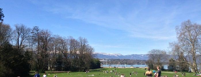 Parc des Eaux-Vives is one of Suiça - onde ir.