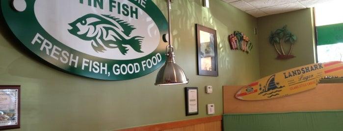 Tin Fish Restaurant is one of Tempat yang Disukai Sharon.