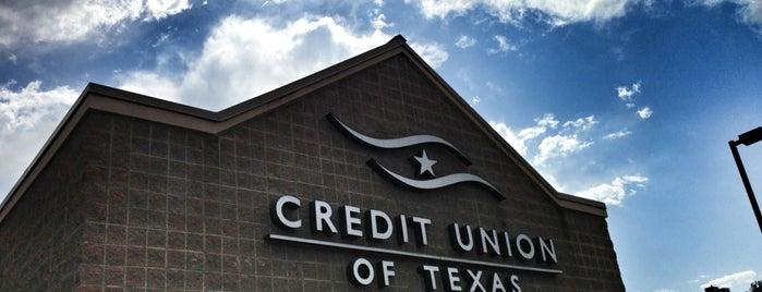 Credit Union of Texas is one of mark (Jason) 님이 좋아한 장소.