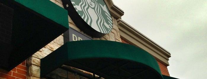 Starbucks is one of สถานที่ที่ Bob ถูกใจ.