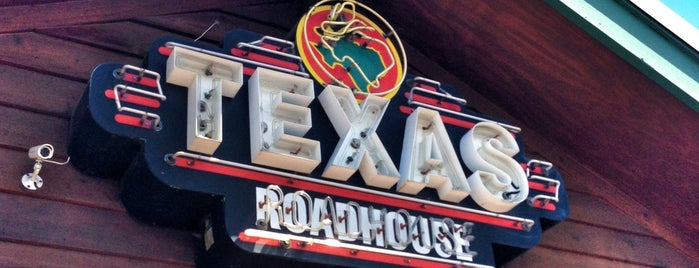 Texas Roadhouse is one of Locais curtidos por Tammy.