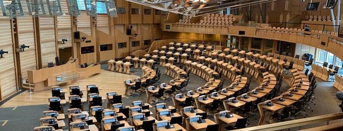 Scottish Parliament is one of Edinburgh To Do Before Graduating List.