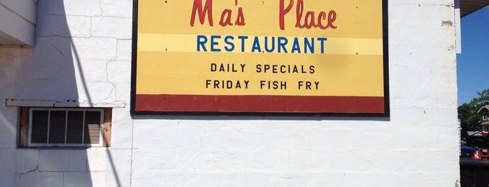 Ma's Place Cafe is one of Orte, die Allen gefallen.