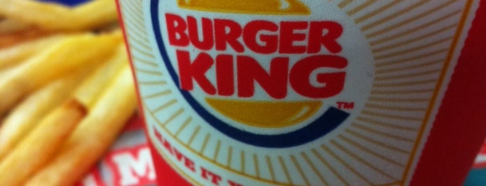 Burger King is one of Antalya Etiket Bonus Mekanları 🌴🍁🍃.