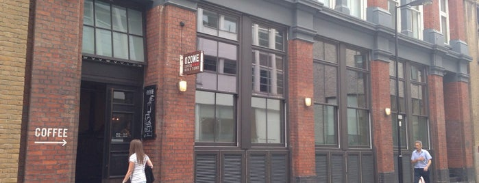 Ozone Coffee Roasters is one of Best of Shoreditch.