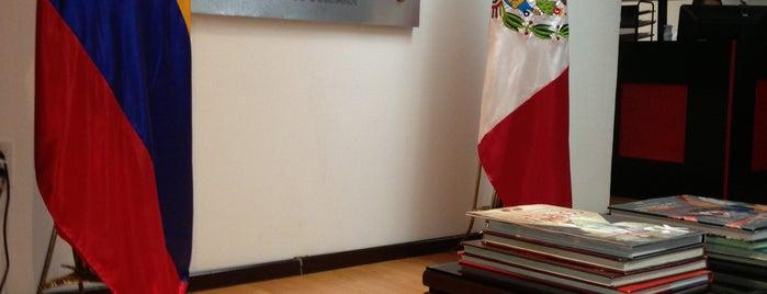 Consulado de Colombia is one of Colombia en México..