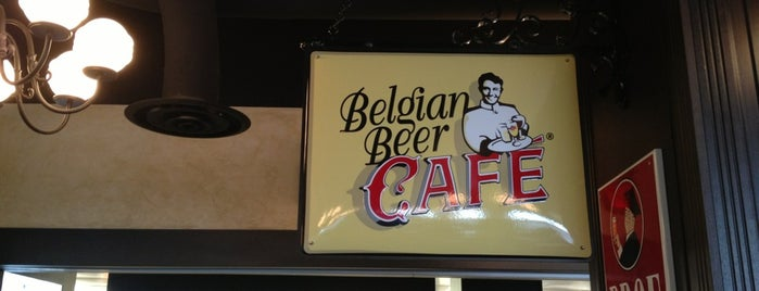 Belgian Beer Café is one of Lizzieさんの保存済みスポット.