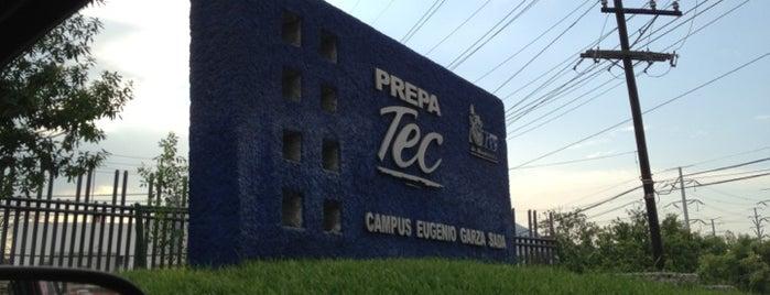 Prepa Tec (Eugenio Garza Sada) is one of สถานที่ที่ El Gos ถูกใจ.