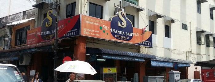 Sri Ananda Bahwan Restaurant is one of Penang.