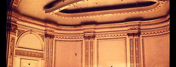 Carnegie Hall is one of NY.