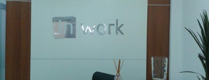 InWork Escritórios Virtuais e Coworking is one of Espaços de coworking.