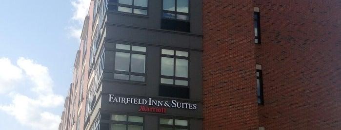 Fairfield Inn & Suites Boston Cambridge is one of Diana'nın Beğendiği Mekanlar.