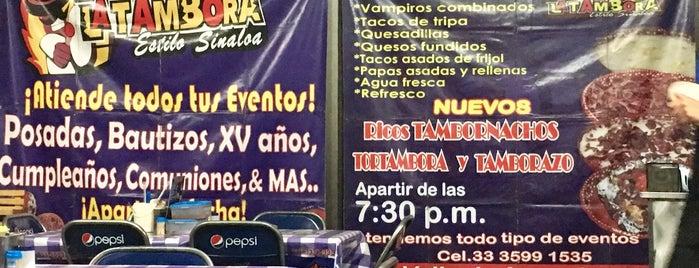 Tacos La Tambora is one of สถานที่ที่ Gaston ถูกใจ.