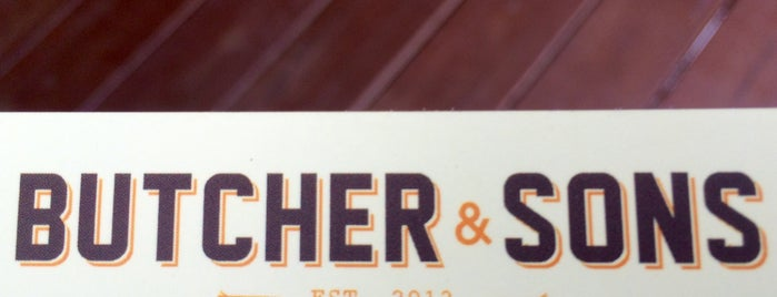 Butcher and Sons is one of Lugares favoritos de Arlette.