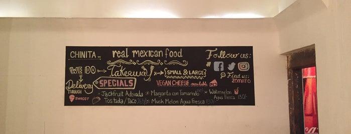Chinita Real Mexican Food is one of Yashas 님이 좋아한 장소.