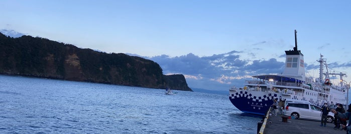 Okata Port is one of สถานที่ที่ 高井 ถูกใจ.