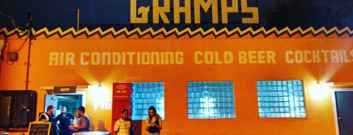 Gramps is one of An All-Encompassing Guide to Miami's Art Scene.