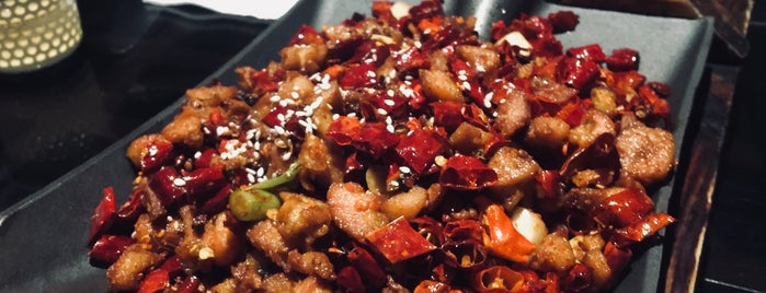 Szechuan Mountain House 川山甲 is one of NYC EATS.