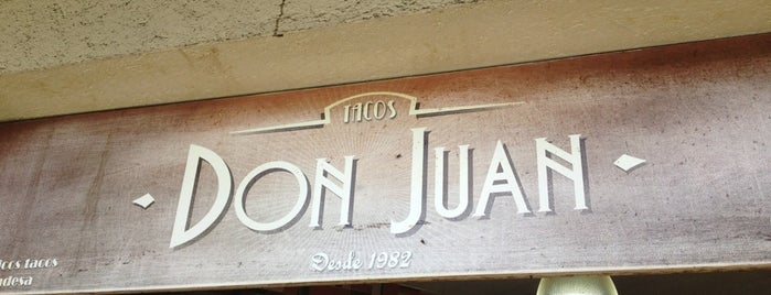 Tacos Don Juan is one of tacos mdf.