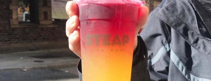 STEAP TEA BAR is one of Posti salvati di Sharon.
