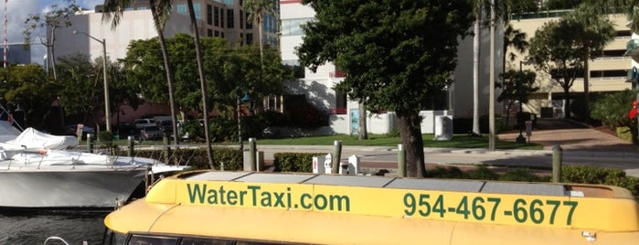 Water Taxi - Stop #2 is one of USA 5.