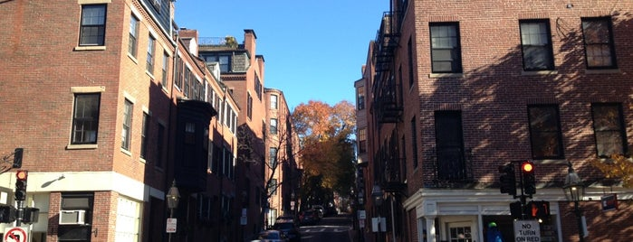 Beacon Hill is one of Boston.