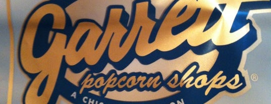 Garrett Popcorn Shops is one of Chicago food.