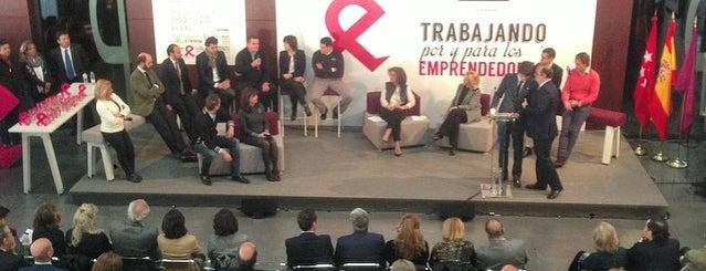 Vivero de empresas de Carabanchel. Madrid Emprende is one of Consultoría/Formación.