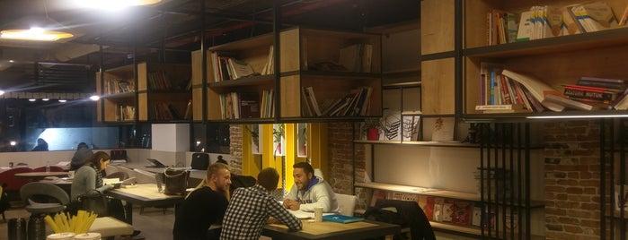 A Kare Coffee & Study Station is one of Dene Ankara.