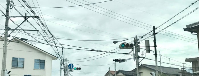 木呂場南交差点 is one of 交差点@石川県能美郡川北町.