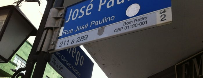 Rua José Paulino is one of Lieux qui ont plu à Cristi.