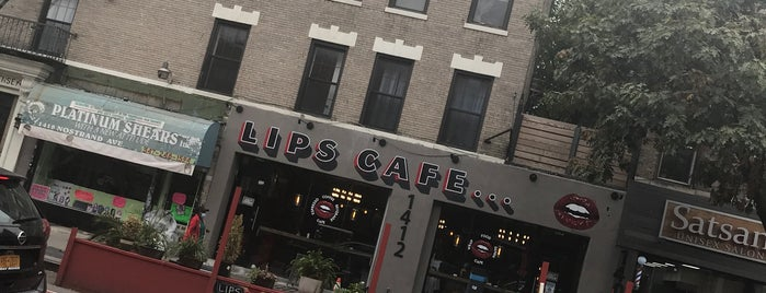Lips Cafe is one of 200 Black-Owned Restaurants in NYC.
